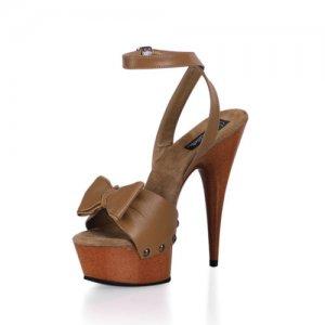 kožené sandály na podpatku Delight-642w-tle