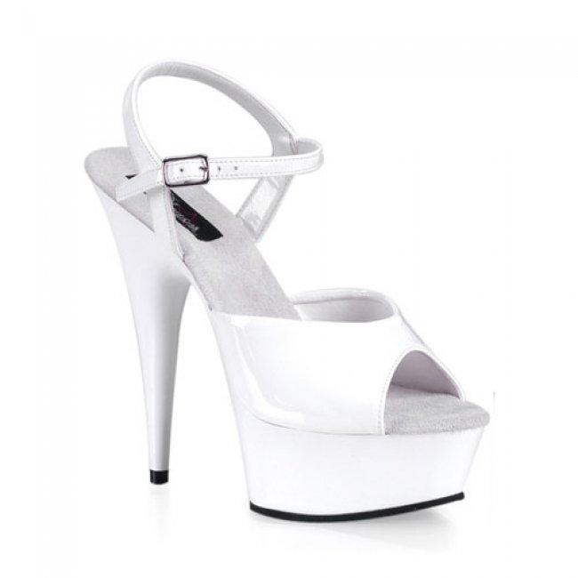 sandálky na platformě Delight-609-w - Velikost 41