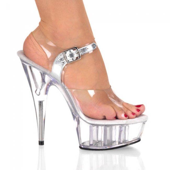 sandálky na platformě Delight-608-c - Velikost 38