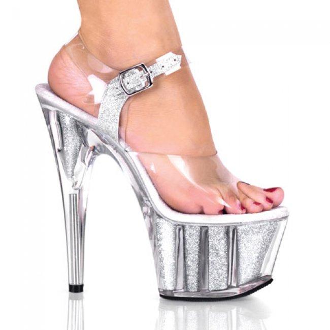 Adore-708g-cs boty na vysokém podpatku a platformě - Velikost 36