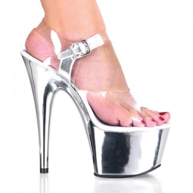 Adore-708-csch boty na vysokém podpatku a platformě - Velikost 42