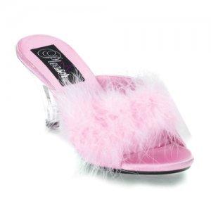 boty s labutěnkou Belle-301f-bp