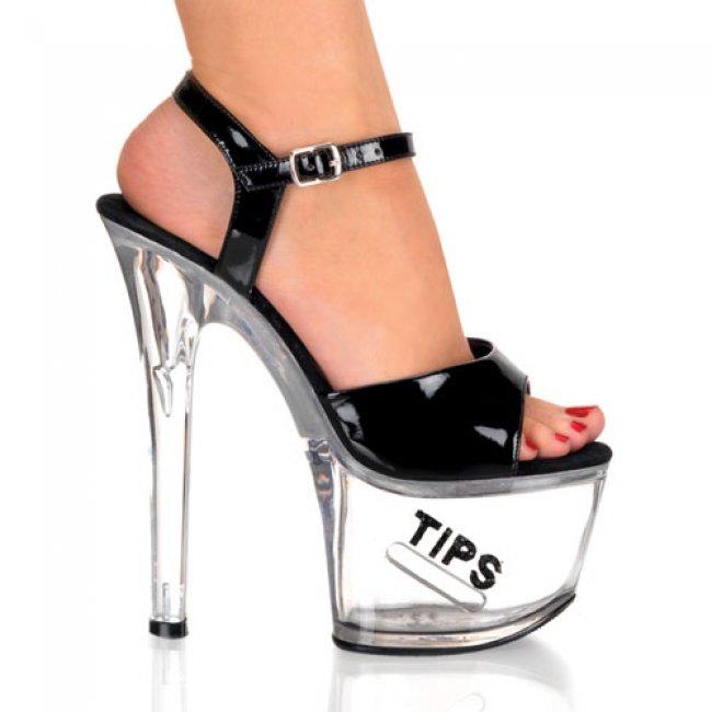 taneční boty Tipjar-709-5-bbg - Velikost 44