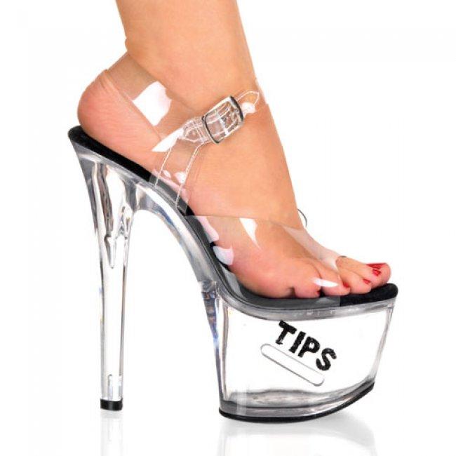 taneční boty Tipjar-708-5-cbg - Velikost 40