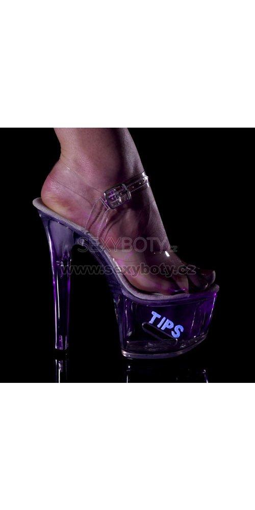 taneční boty Tipjar-708-5-cwg - Velikost 44   SEXYBOTY.cz 95c429f816