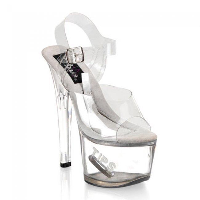 taneční boty Tipjar-708-5-cwg - Velikost 44