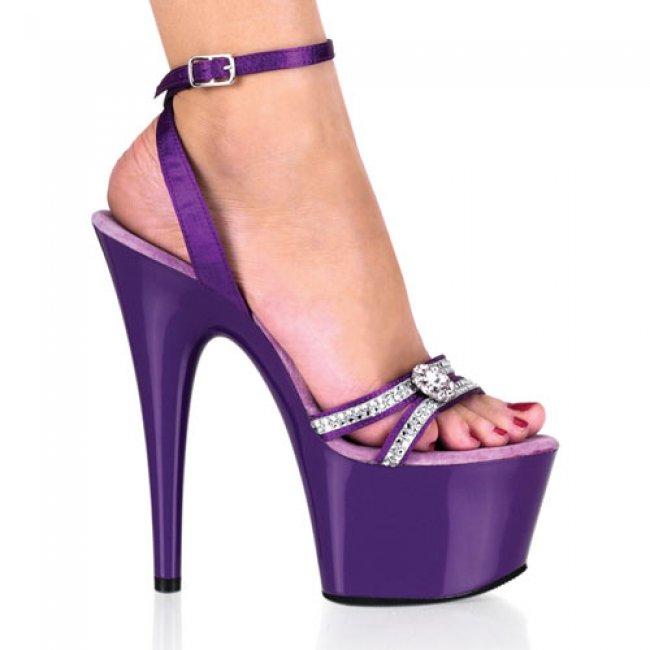 Adore-738-purrs boty na vysokém podpatku a platformě - Velikost 40
