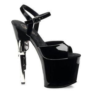 vysoké sandály na platformě Bondgirl-709-b