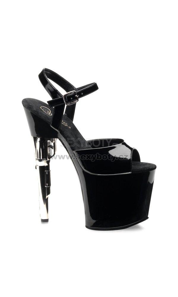 c1b948d05e16 vysoké sandály na platformě Bondgirl-709-b - Velikost 35   SEXYBOTY.cz