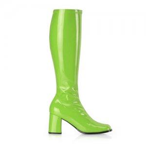 zelené dámské kozačky Gogo-300LM