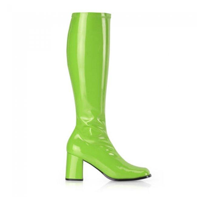 zelené dámské kozačky Gogo-300LM - Velikost 41