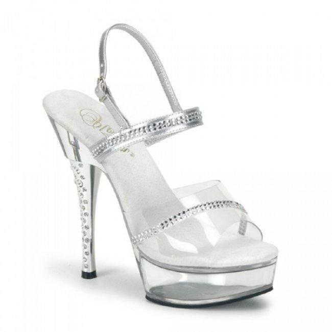 luxusní sandále DIAMOND-639-SC - Velikost 35