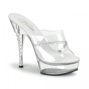 elegantní pantofle DIAMOND-601R-CM