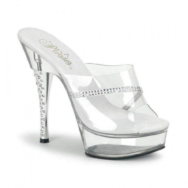 elegantní pantofle DIAMOND-601R-CM - Velikost 42