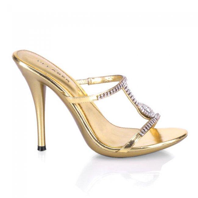 Eclair-03-gpu sexy elegantní boty Pleaser na podpatku - Velikost 36