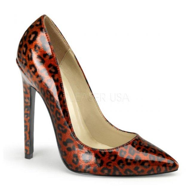 lodičky s gepardím vzorem Sexy-20-rcp - Velikost 38