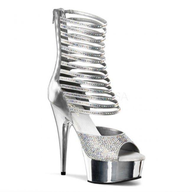 dámské luxusní sandály Delight-600-35-spu - Velikost 42