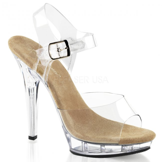 béžové sandály Lip-108-ctc - Velikost 38