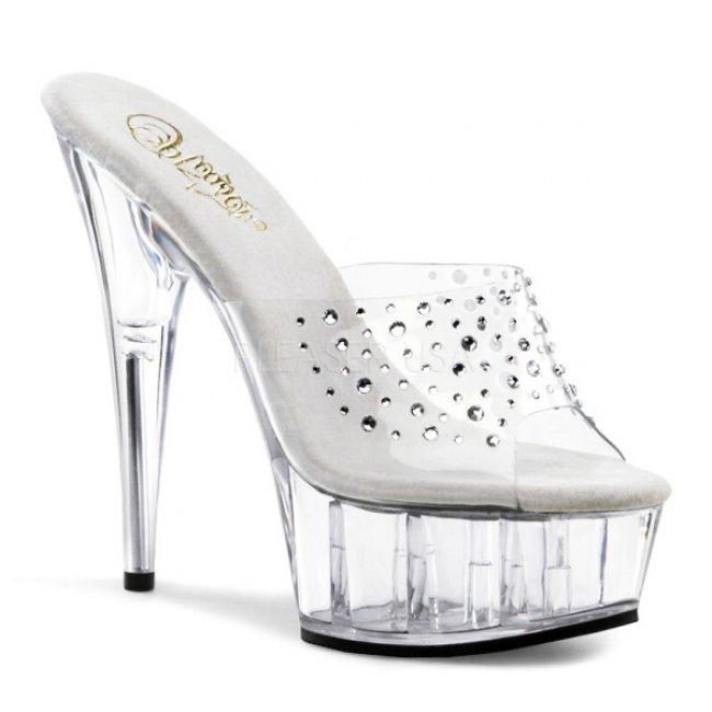 dámské pantofle Delight-601rs-c - Velikost 38