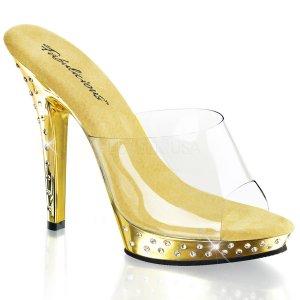 zlaté pantofle Lip-101sdt-cgch