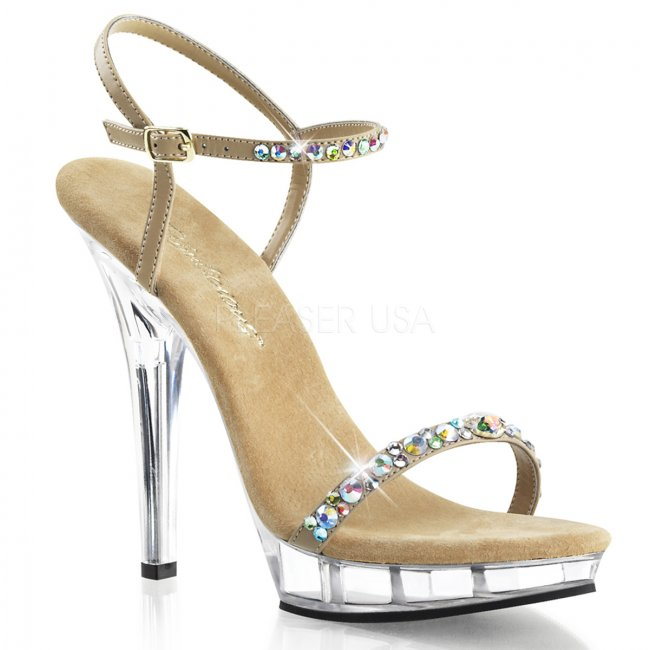 béžové sandály Lip-131-tppuc - Velikost 35