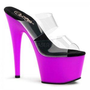 fialové UV pantofle Adore-702uv-cnpp