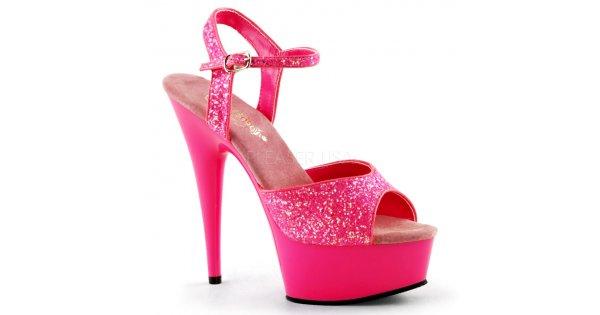 88138a2bb2b4 sandále s UV efektem Delight-609uvg-nhp - Velikost 39   SEXYBOTY.cz