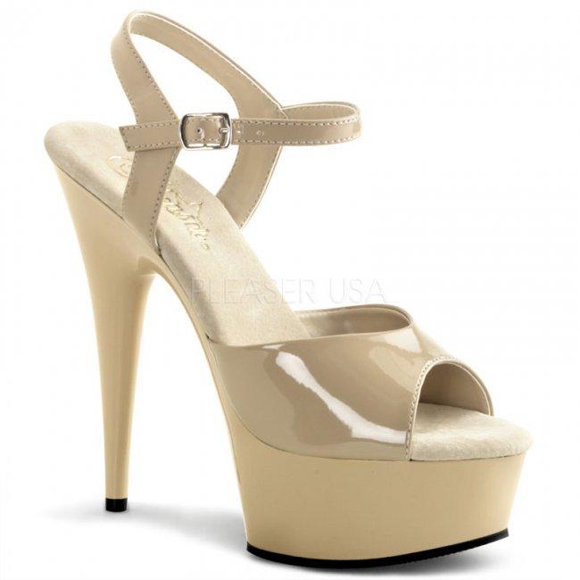boty na podpatku Delight-609-nu - Velikost 37