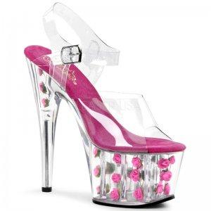 sandále s růžičkami Adore-708fl-chp