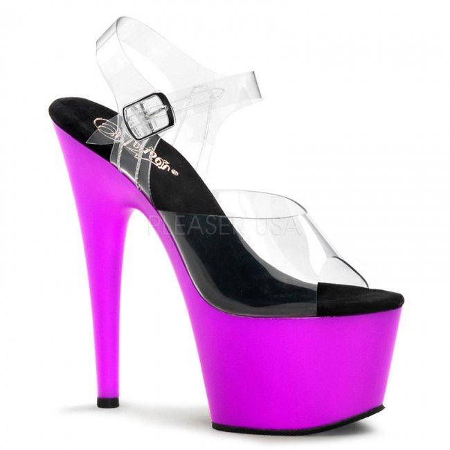 fialové UV sandále Adore-708uv-cnpp - Velikost 39