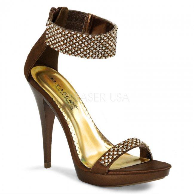 společenské sandále Revel-16-bzsa - Velikost 35
