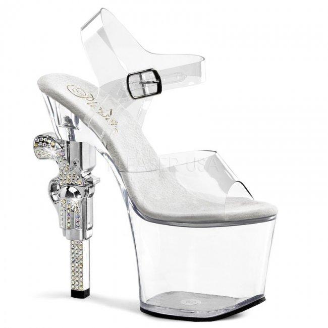 boty na vysokém podpatku Revolver-708-c - Velikost 41