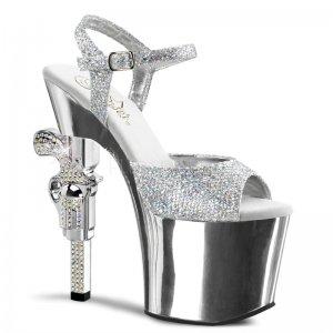 boty na vysokém podpatku Revolver-709g-sg