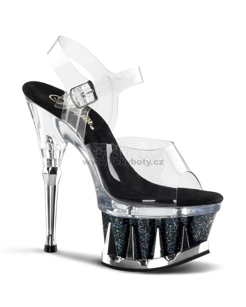 sandále s glitry Spiky-608mg-cbg - Velikost 35   SEXYBOTY.cz c7f0b0f2c1