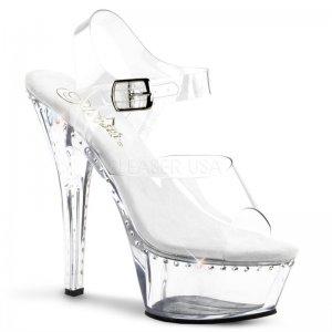 průhledné boty sandály Kiss-208ls-c