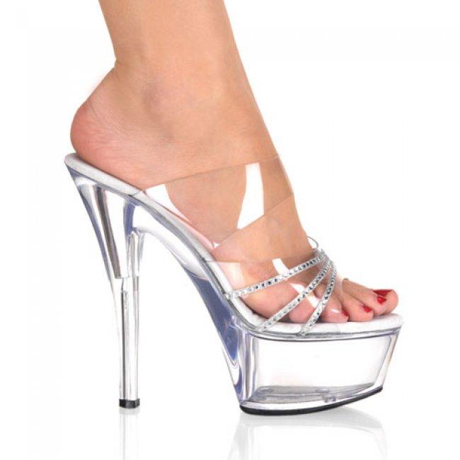 Kiss-202r-crs krásné sexy boty na podpatku a platformě - Velikost 35