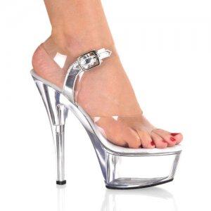 Kiss-208-c krásné sexy boty na podpatku a platformě
