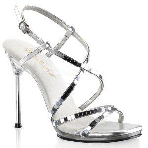 dámské sandálky se zrcadélky Chic-09-smirc