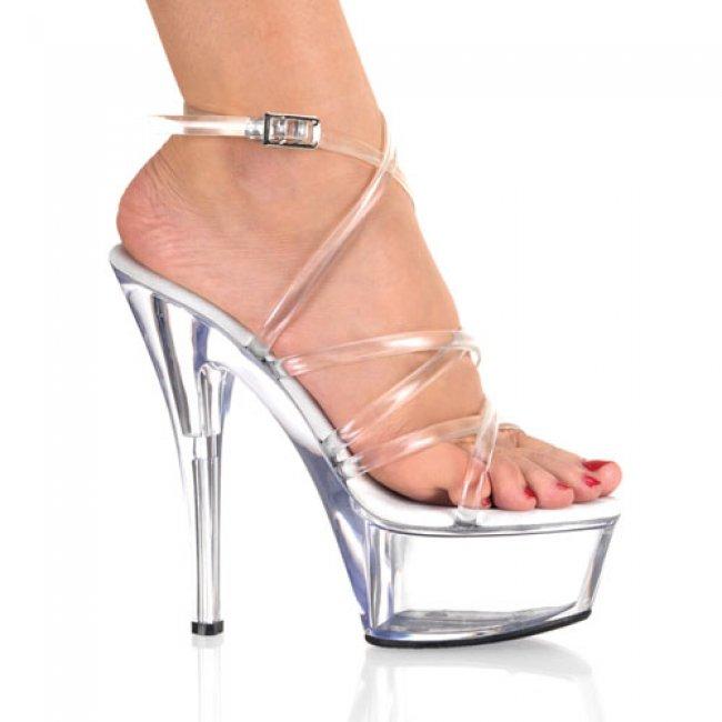 Kiss-206-c krásné sexy boty na podpatku a platformě - Velikost 35