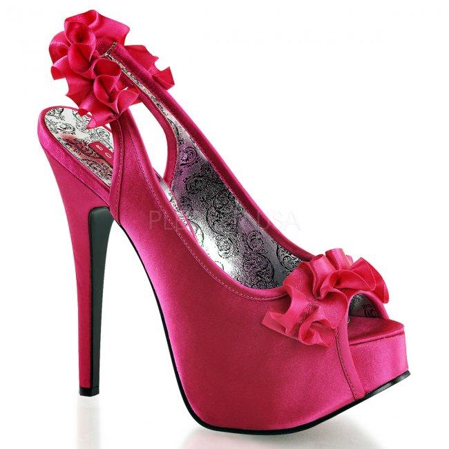 vysoké sandálky s mašličkouTeeze-56-fssa - Velikost 38