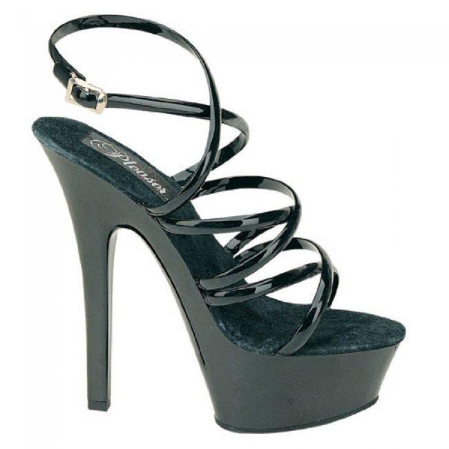 Kiss-206G krásné sexy boty na podpatku a platformě - Velikost 36