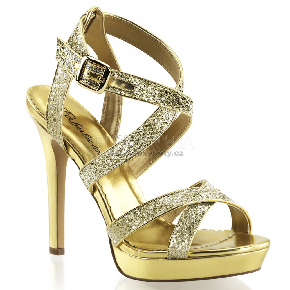 a0abe64e3fc5 zlaté páskové sandálky Lumina-21-gg - Velikost 38   SEXYBOTY.cz