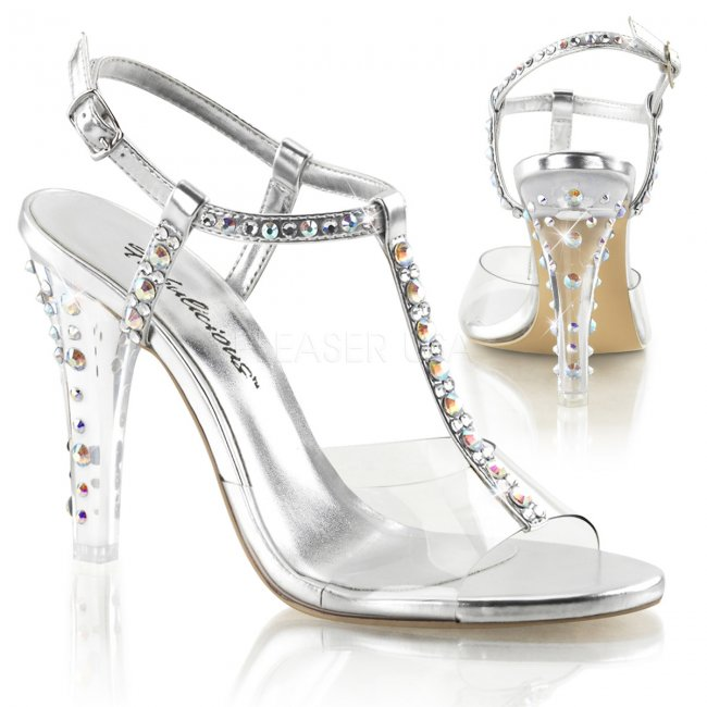 dámské sandále Clearly-426-cspu - Velikost 39