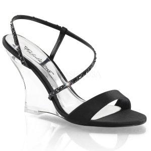 sandálky na klínku Lovely-417-bsa-c