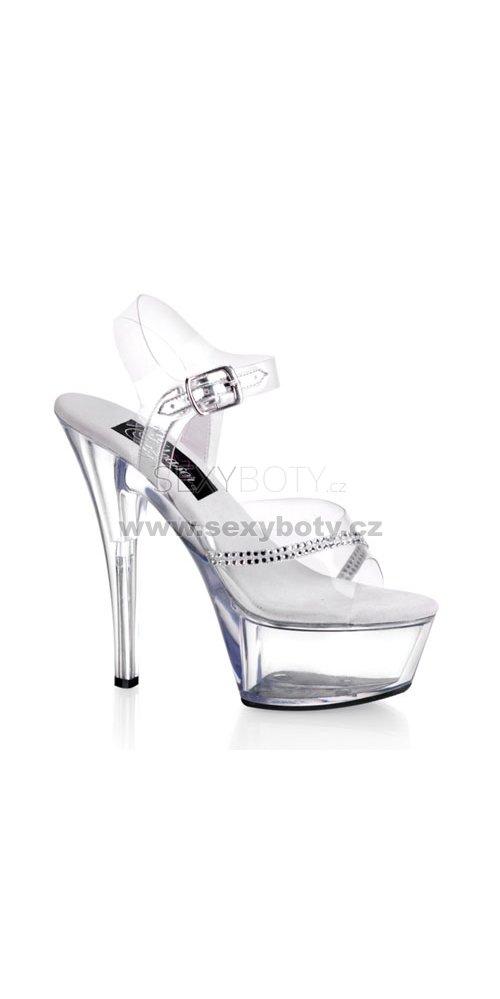 Kiss-208r-c krásné sexy boty na podpatku a platformě - Velikost 39 ... f1d99a4d93