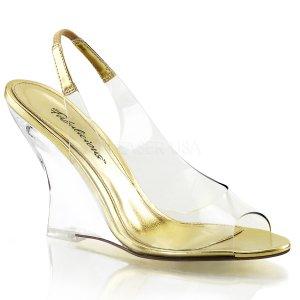 dámské sandálky na klínku Lovely-450-cg-c