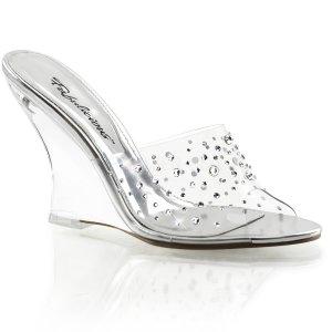 pantoflíčky na klínku Lovely-401rs-c