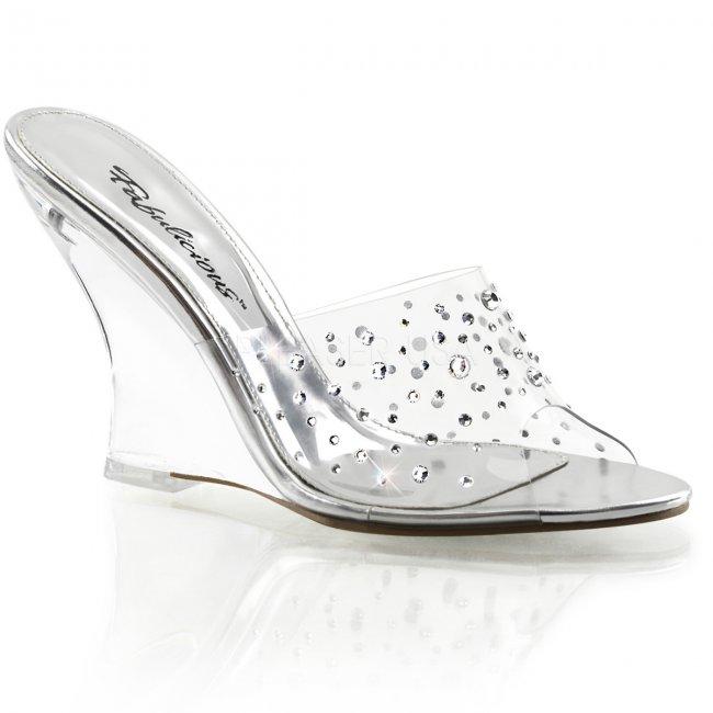 pantoflíčky na klínku Lovely-401rs-c - Velikost 39
