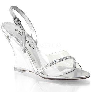 dámské sandálky na klínu Lovely-456-cs-c
