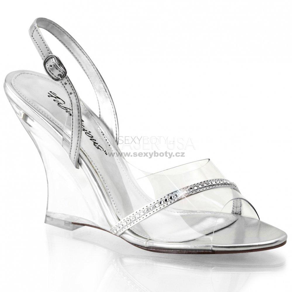 b02c1efff3ce dámské sandálky na klínu Lovely-456-cs-c - Velikost 35   SEXYBOTY.cz